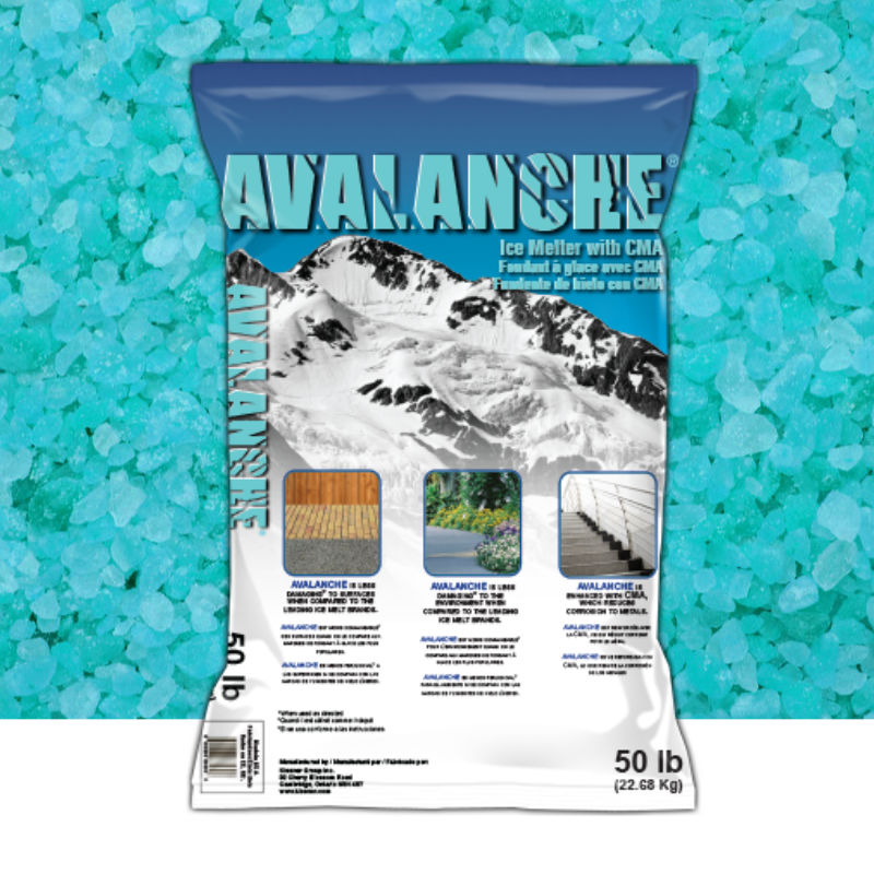 Avalanche Ice Melt With Cma Gleason Salt Amp Supply