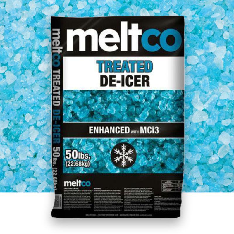 MeltCo Treated De-Icer