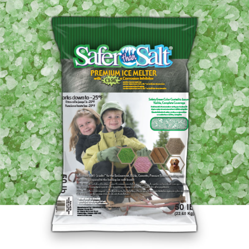Safer Than Salt® Ice Melt With CI-56™