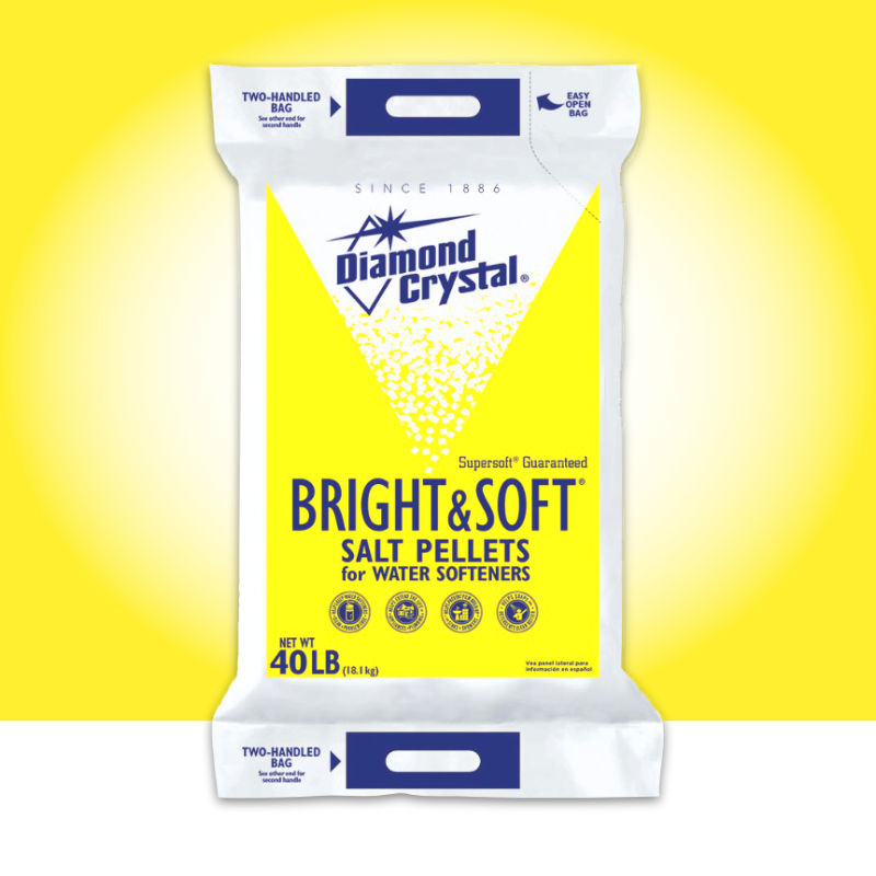 Bright and Soft Water Conditioning Pellets