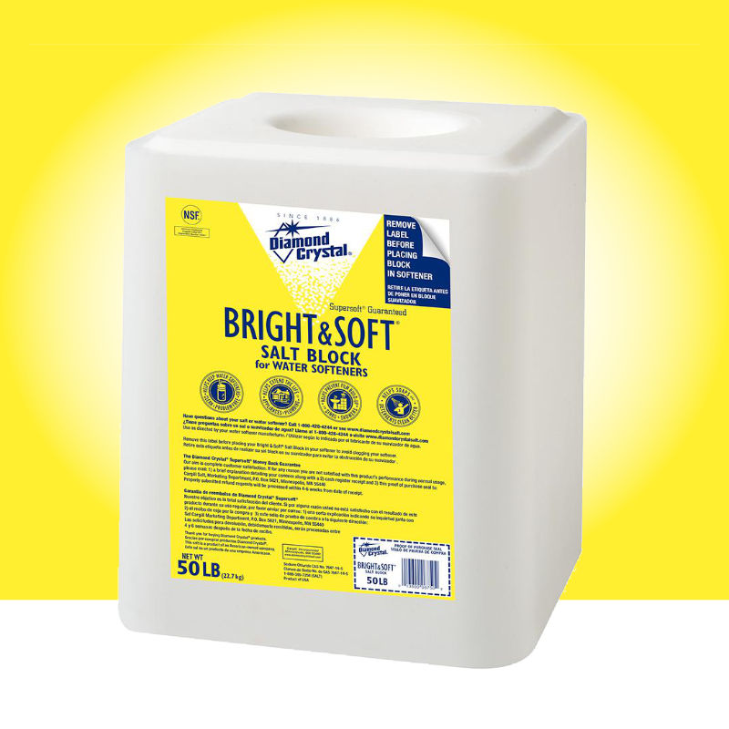 Bright & Soft Water Softener Salt Blocks