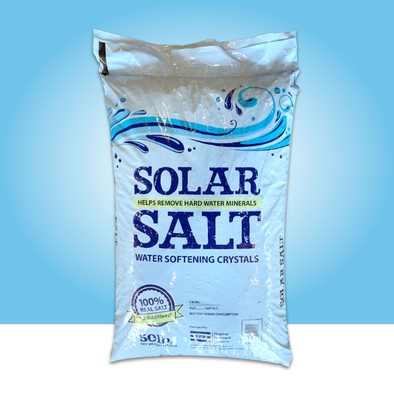 Solar Salt Water Softener By Flagship