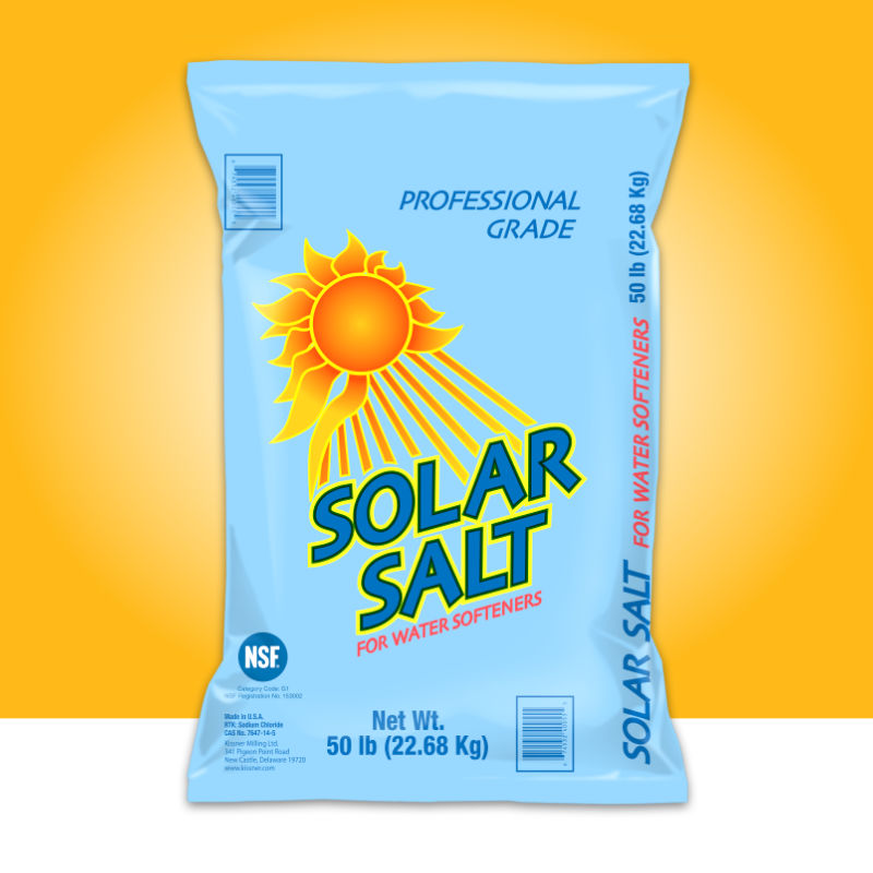 Solar Salt Water Softener By Kissner