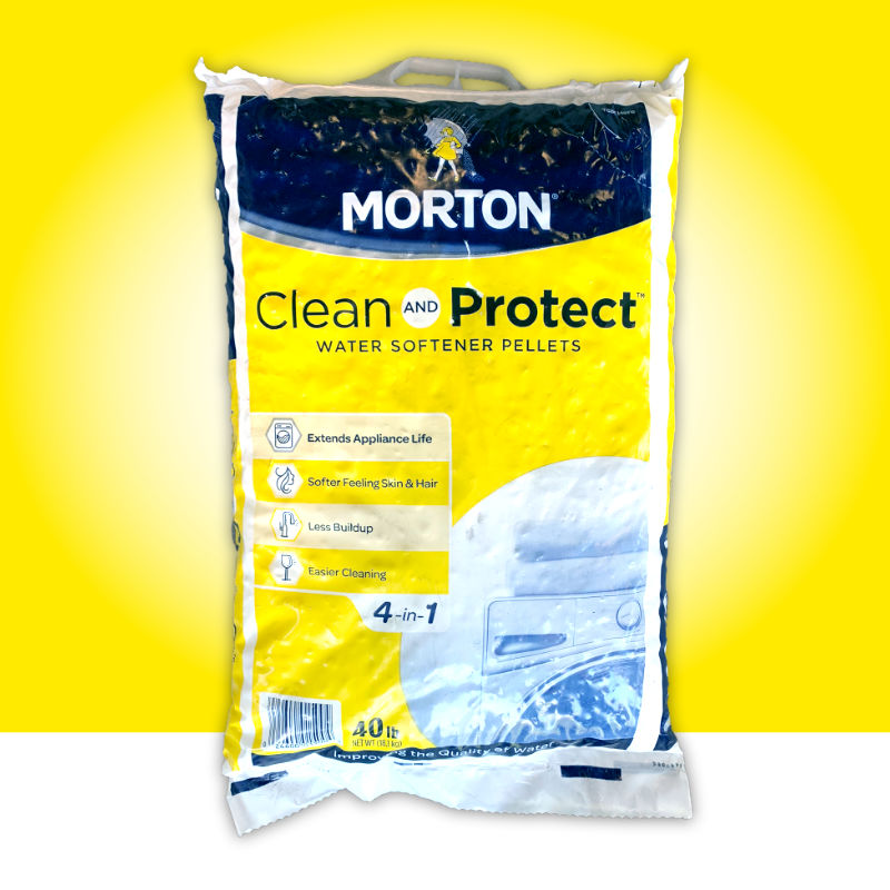 Clean & Protect Water Softener Pellets